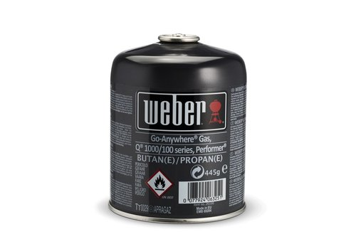 Weber DISPOSABLE GAS CANISTER - 445G