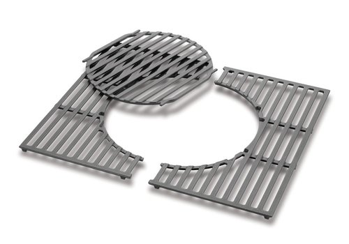 Weber Cooking Grates - Cast iron, fits Spirit 200 Series