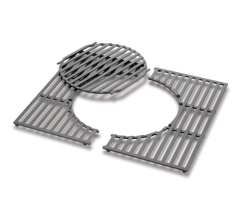Cooking Grates - Cast iron, fits Spirit 200 Series