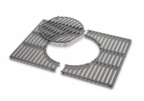 Weber Cooking Grates - Cast iron, fits Spirit 300 Series