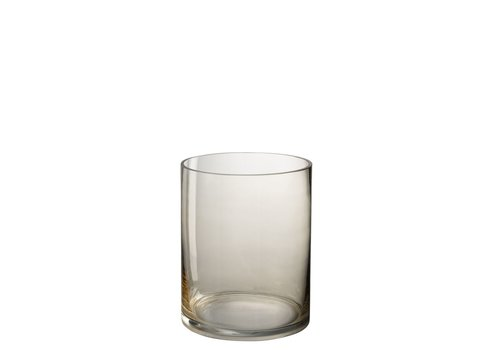 Homestore HURRICANE ROUND GLASS BEIGE