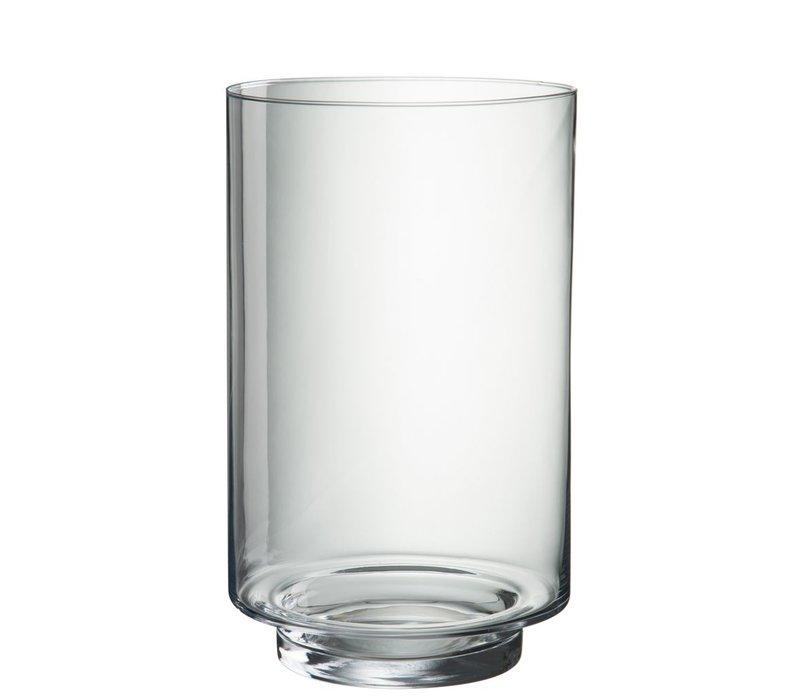 HURRICANE SALIMA CLEAR GLASS (L)