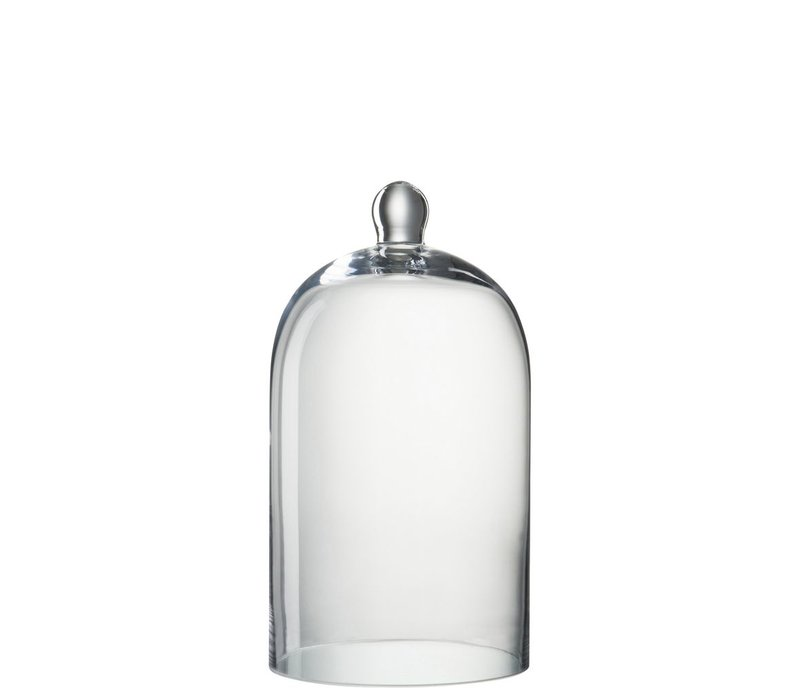 GLASS BELL ROUND CLEAR GLASS