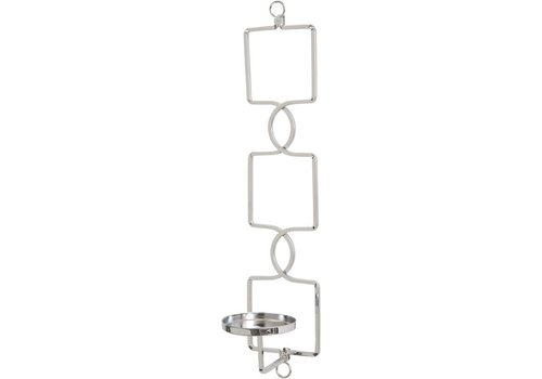 Homestore Chrome Square Link Wall Sconce