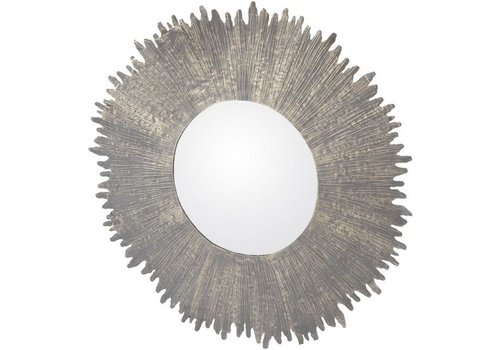 Homestore Bali Metal Round Mirror Large