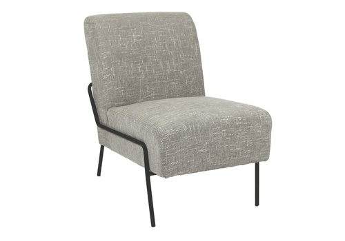Homestore LALALAND Chair - 1 seater in black