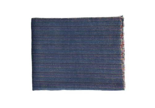 Homestore PAOLO - mohair throw in blue (130x170cm)