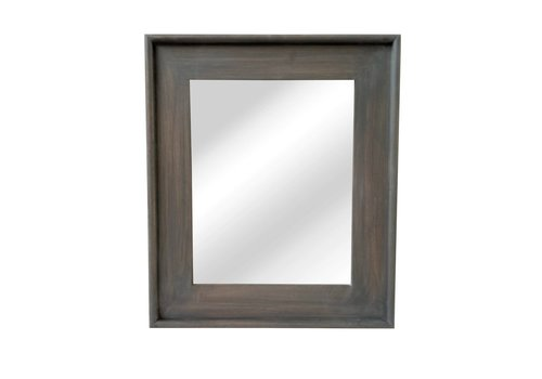 Homestore CLASSIC SOFT mirror in grey wood -M 58x68cm