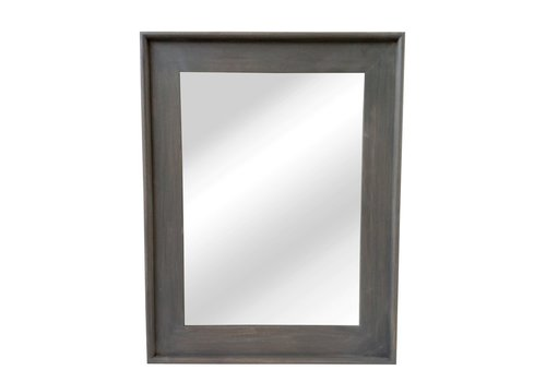 Homestore CLASSIC SOFT mirror in grey wood - L 68x88cm