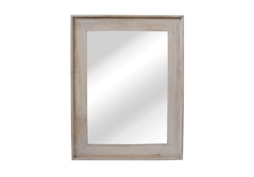 Homestore CLASSIC SOFT mirror in natural wood - L 68x88cm