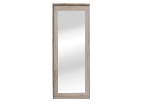 Homestore CLASSIC SOFT mirror in natural wood - XL 58x168cm