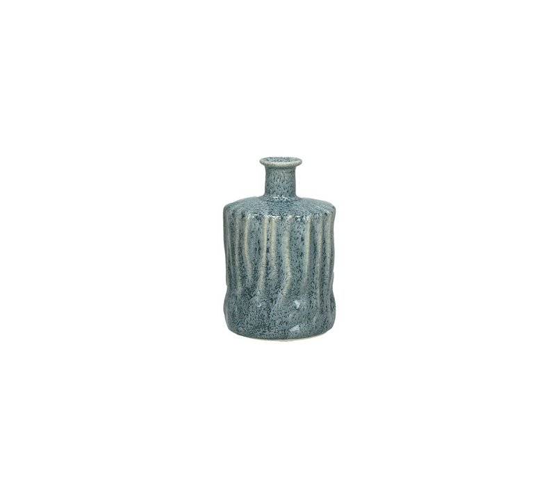 SILVA deco bottle in skyblue - Small