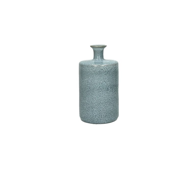 SILVA deco bottle in skyblue - Medium