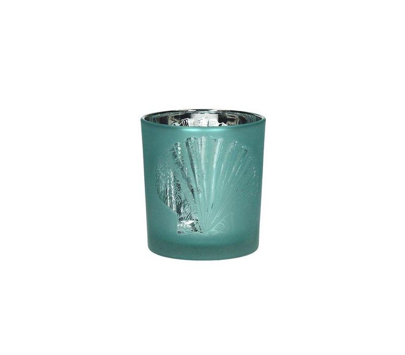 ATLANTIS T-Light holder in Aqua - S