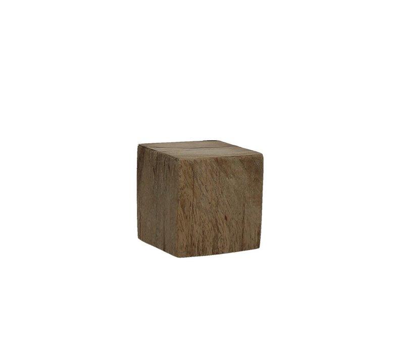 BLOXX solid mango wood block