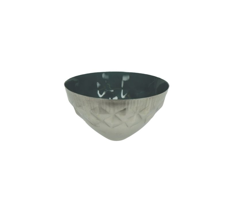 BAHAI floating candle holder in dark green - 8x5 cm