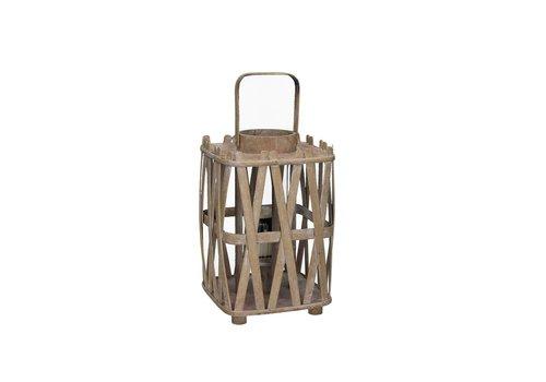 Homestore BIBA lantern innatural wood Small