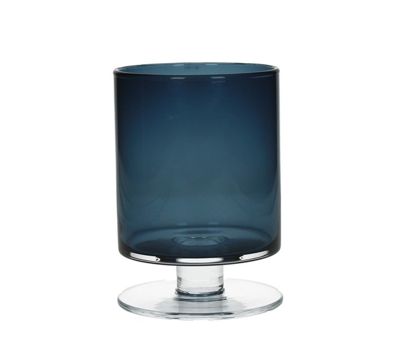 TARA Vase in dark blue Medium