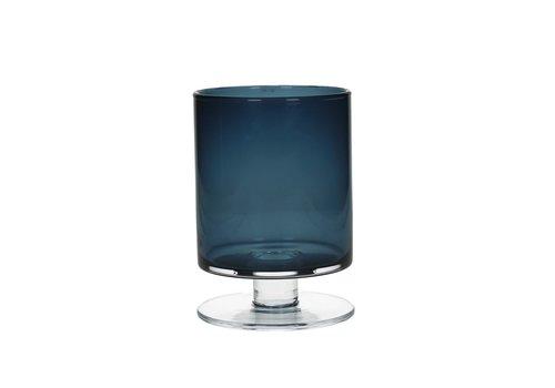 Homestore TARA Vase in dark blue Small