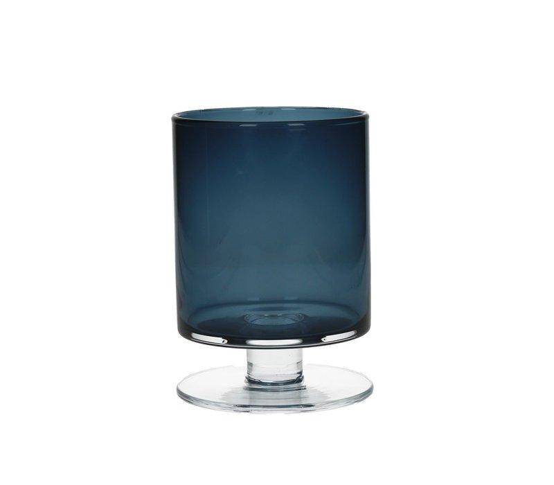 TARA Vase in dark blue Small