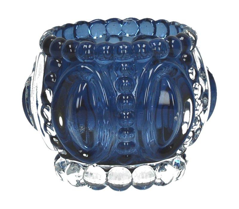MEDAILLE T-Light Holder in Blue-