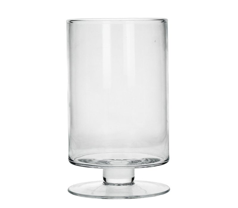 TARA Vase in clear Glass - XL
