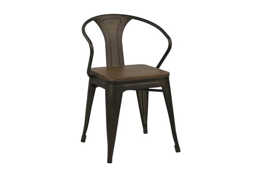 Homestore TILO armchair with bamboo seat