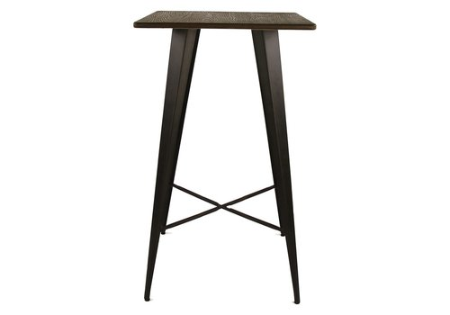 Homestore TILO bar table with bamboo top
