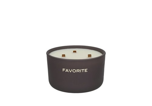 Homestore FAVORITE scented candle 3 wicks (40hrs)