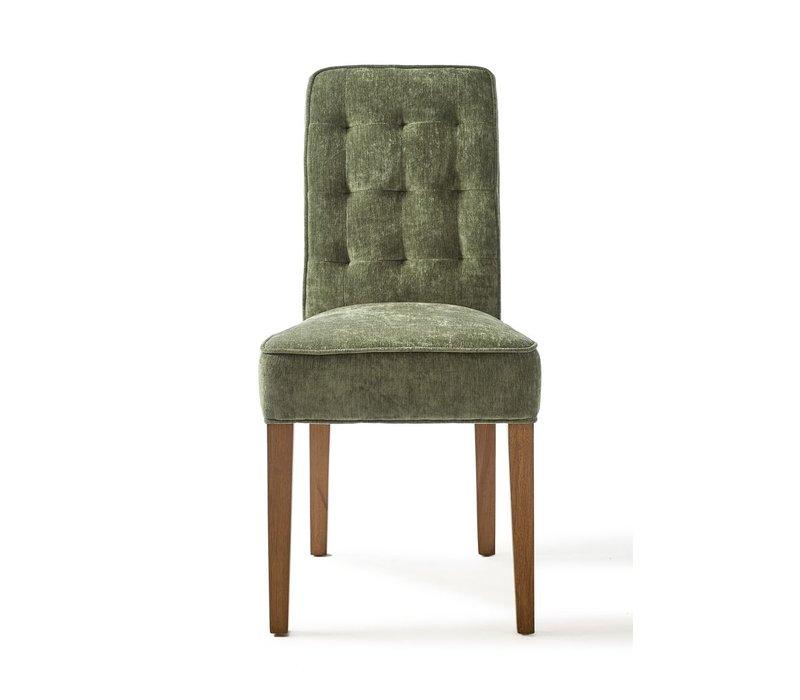 Madison Dining Chair, Velvet, Palm