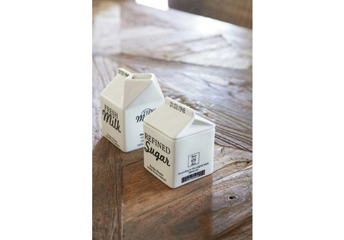 Homestore Carton Jar, Sugar