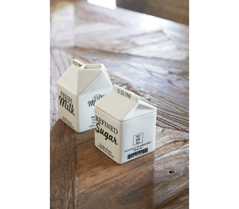 Carton Jar, Sugar