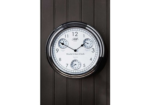 Homestore World Cities Clock