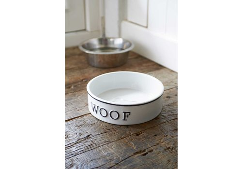 Homestore Woof Doggie Bowl L