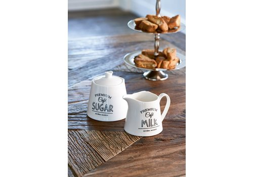 Homestore Premium Café Sugar & Milk Set