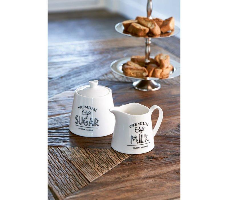Premium Café Sugar & Milk Set