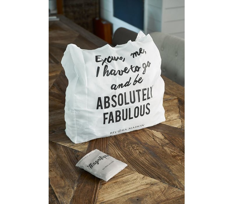 Absolutely Fabulous Foldable Bag