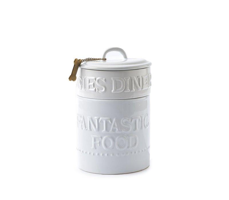 Doggies Dinner Jar