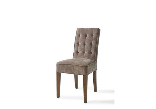 Homestore Madison Dining Chair velvet Dolphin