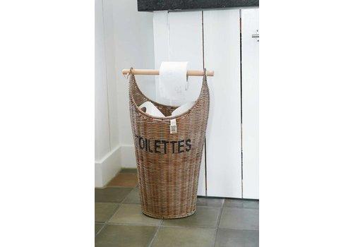 Homestore Rustic Rattan Toilettes Basket