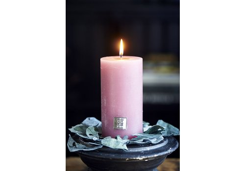 Homestore Rustic Candle raspberry 7x13