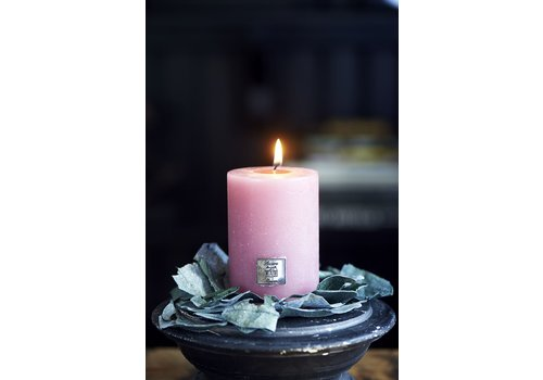 Homestore Rustic Candle raspberry 7x10