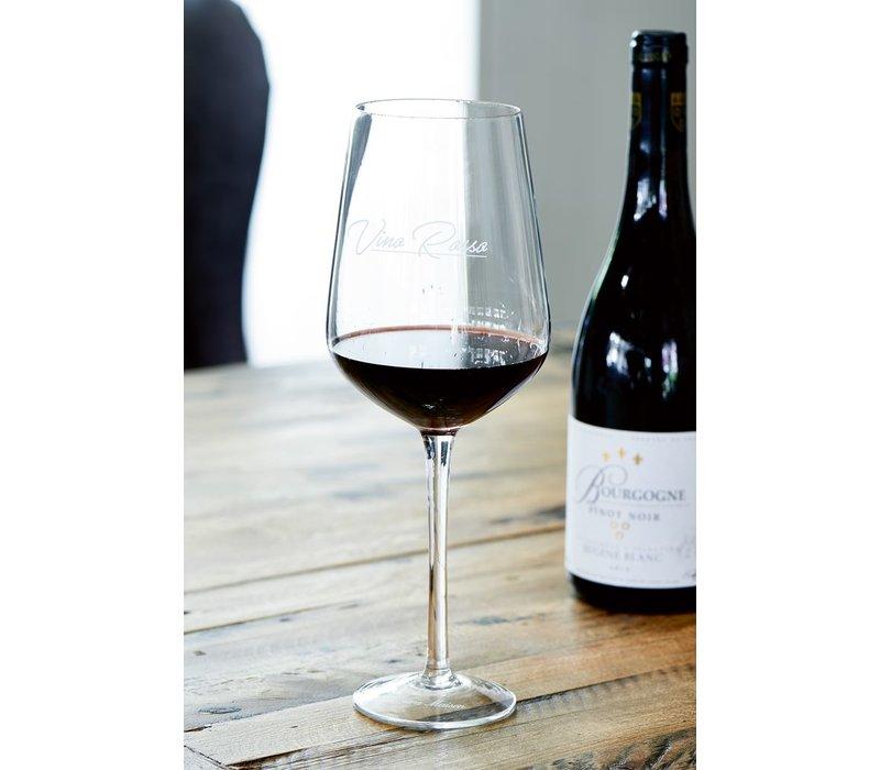 Vino Rosso Wine Glass