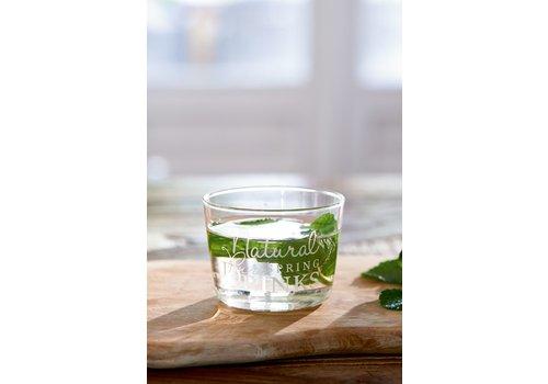 Homestore Natural Spring Drinks Glass