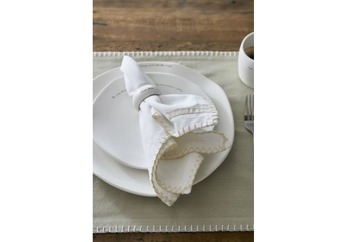 Homestore Pure Summer Napkin white flax
