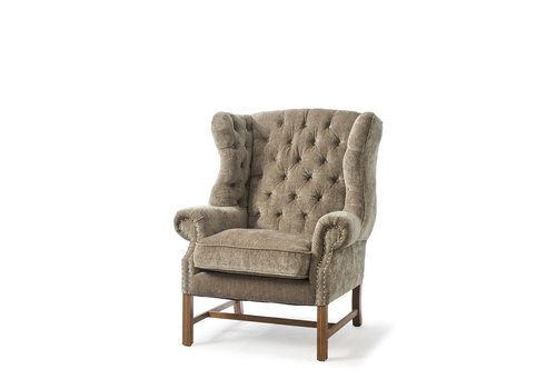 Homestore Franklin Park Wing Chair Vel Olive