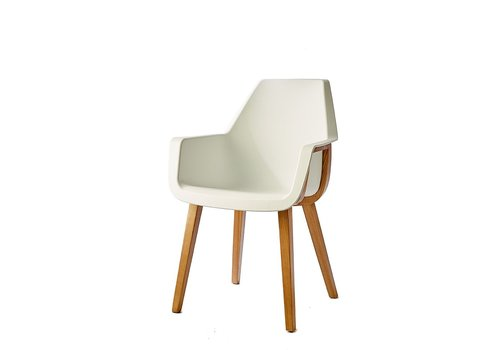 Homestore Amsterdam City Dining Armchair White