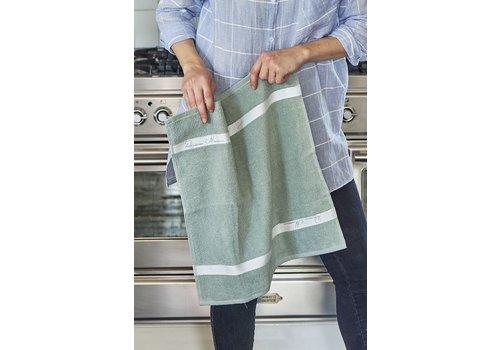 Homestore Kitchen Towel leaf green 50x50