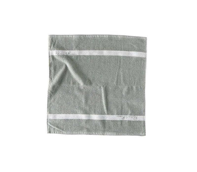 Kitchen Towel leaf green 50x50