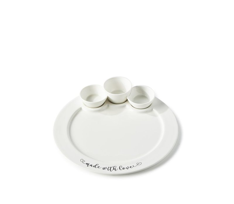 Made With Love Serving Plate